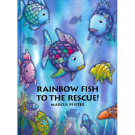 Second grade nest art projects based on childrens literature for Rainbow fish children s book