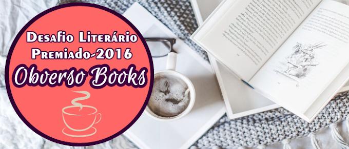 Desafio Literário Premiado - Grupo Obverso Books/2016