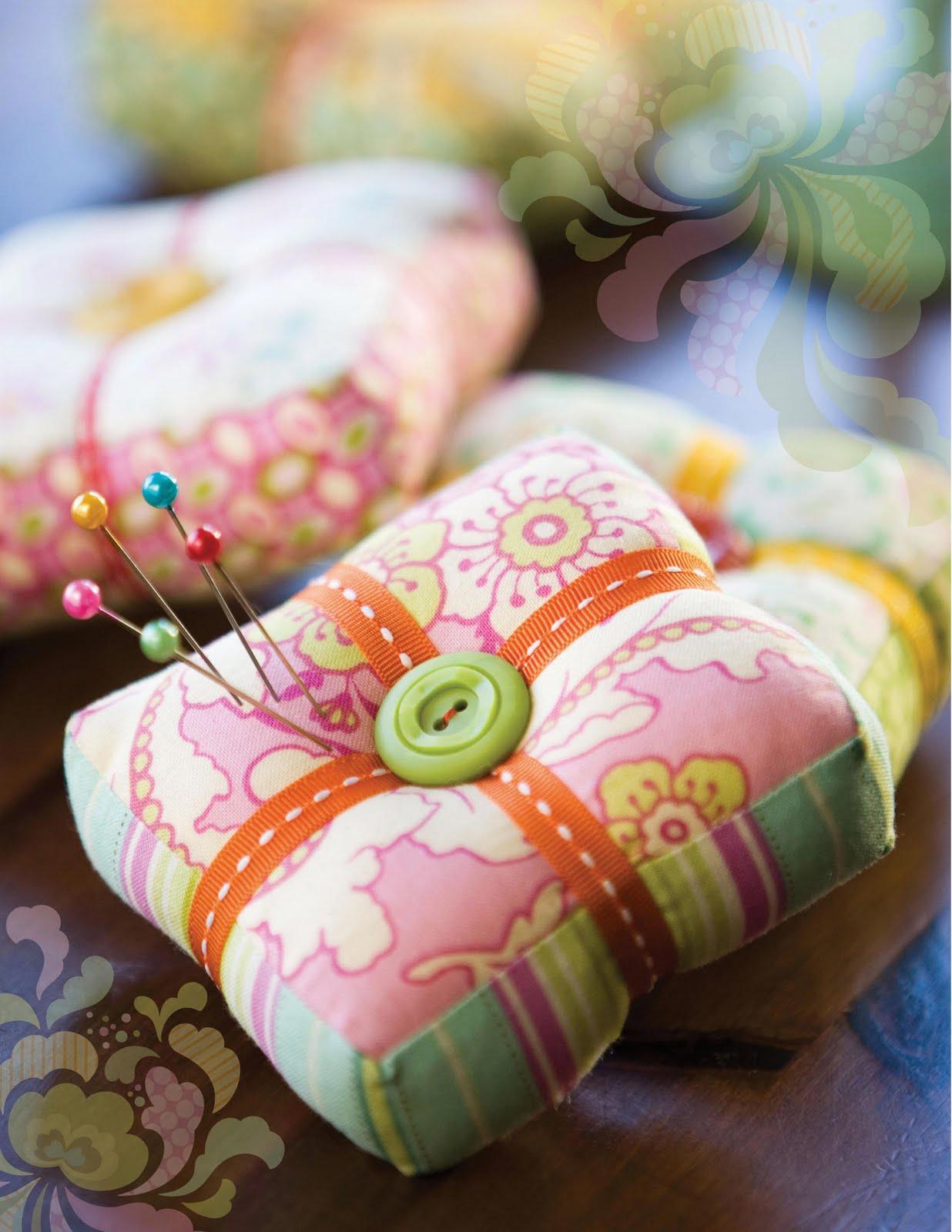 Подушку для иголок своими руками