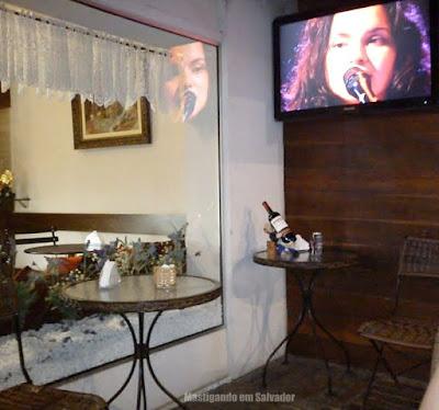 Bistrô da Chapada Café: Ambiente externo
