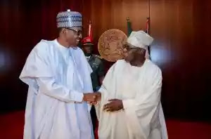 Buhari reveals why he will never join issues with Obasanjo despite criticisms