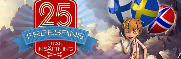 nya casino free spins utan insättning