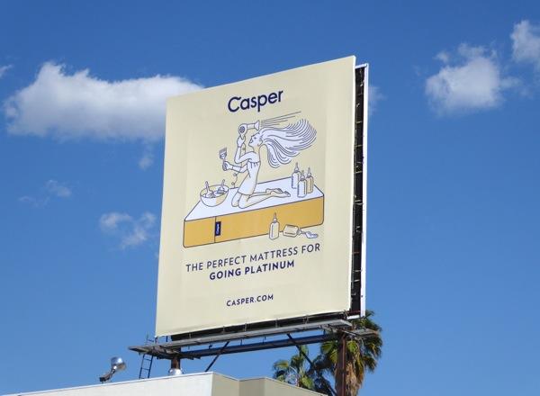 Casper perfect mattress going platinum billboard