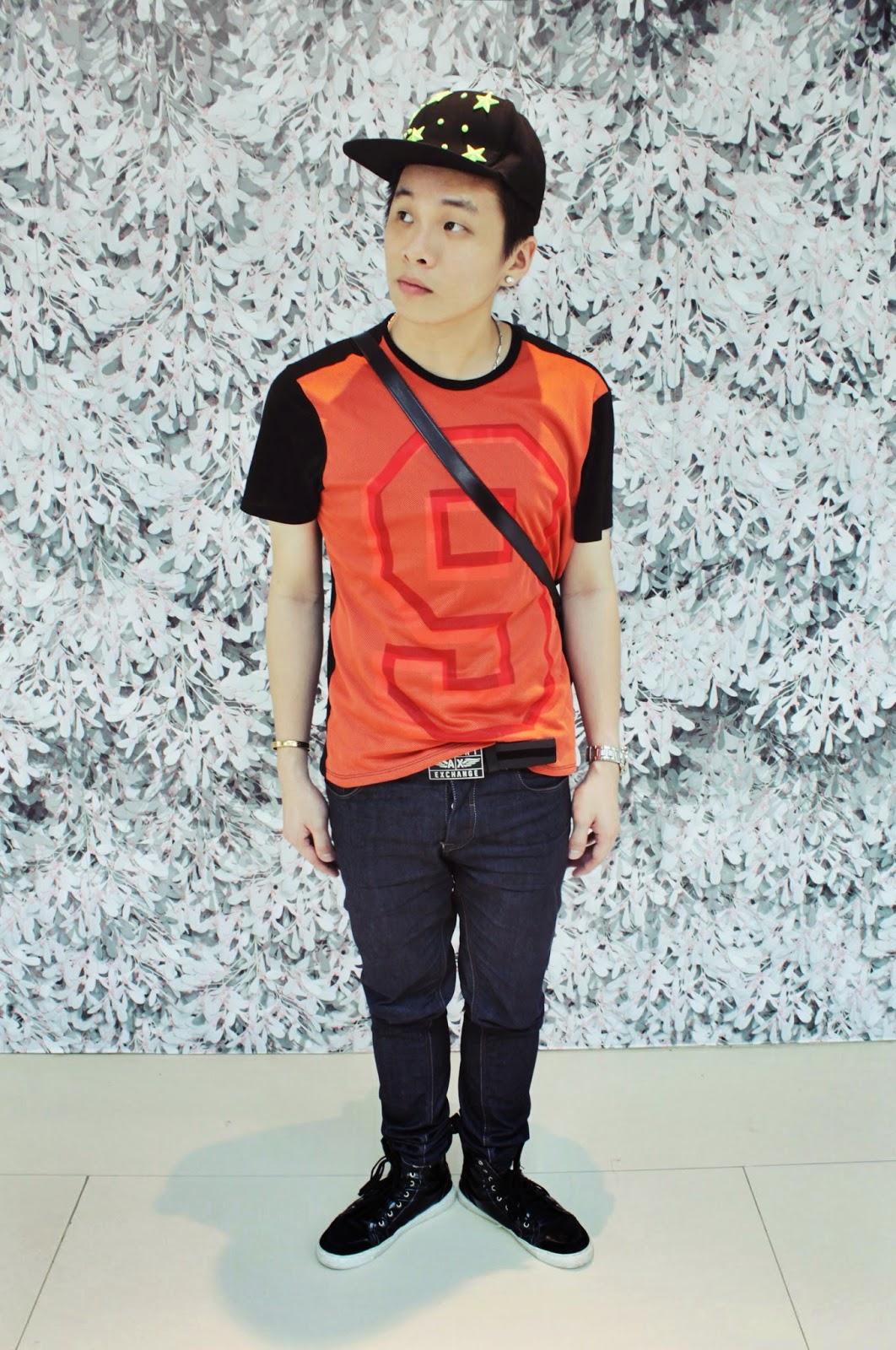 Ray Tan 陳學沿 (raytansy) Wearing : ARMANI EXCHANGE Shirt, ARMANI EXCHANGE Belts, ZARA Jeans, SEIKO watches and RAWPIECE bags , Zalora Singapore Online Shopping Code