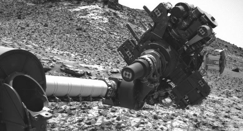 Robot Rover Curiosity Terjadi Korsleting di Bagian Lengan