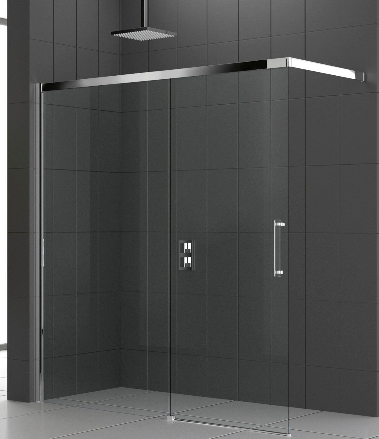 Aqualys burdin bossert prolians besancon collection paroi for Porte pour douche a litalienne