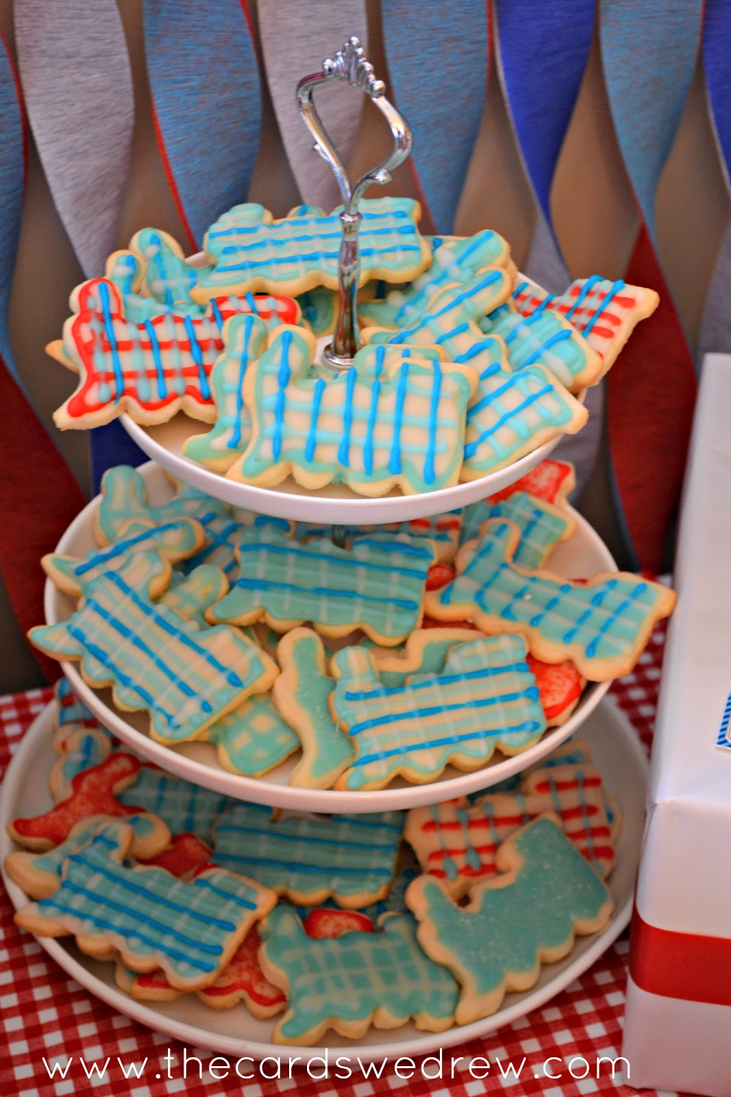 Train Cookies Were Made By The Grandma Of Birthday Boy They Turned Out And Tasted Great