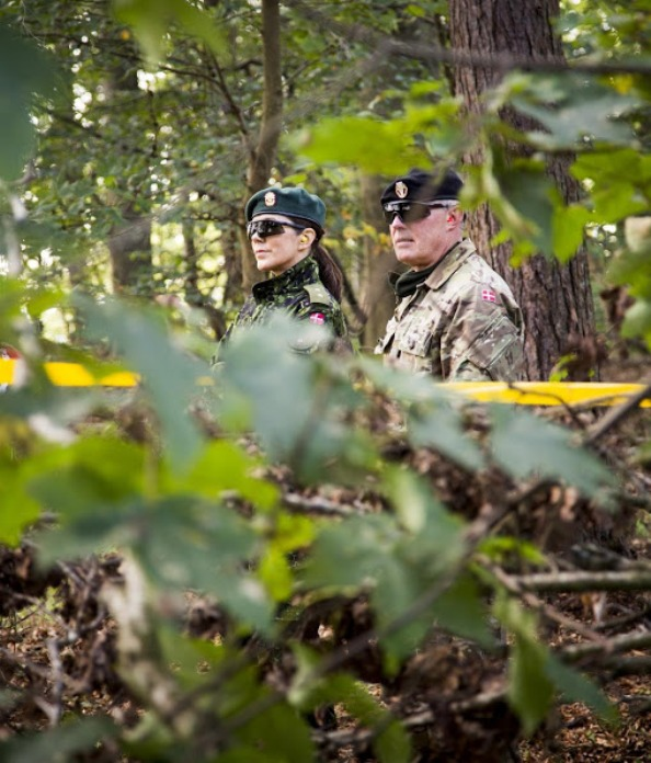 Crown Princess Mary Attended The Field Exercise Of Svend Gønge