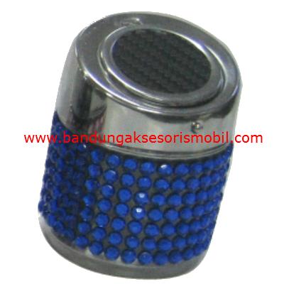 Asbak Kaleng Full Berlian Biru