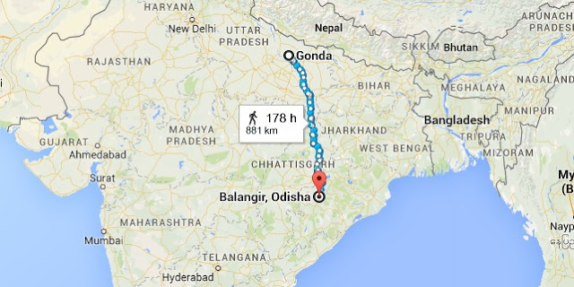 Migration of Brahmins per Patna Grants of Mahashivagupta I Yayati in 944 AD Map