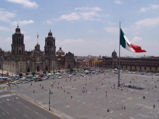 Pasea en la Ciudad de México