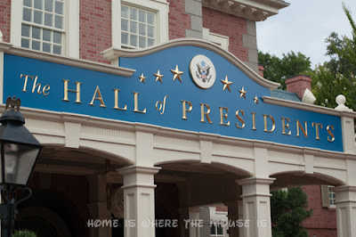 The Hall of Presidents attraction in Liberty Square, Magic Kingdom