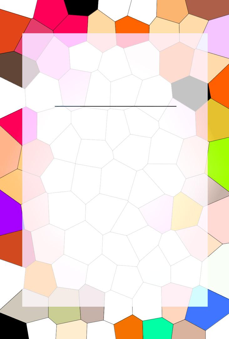 Caratulas para trabajos mosaico vitral de colores infantiles - Mosaico de colores ...