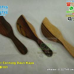 Souvenir Centong Daun Kayu