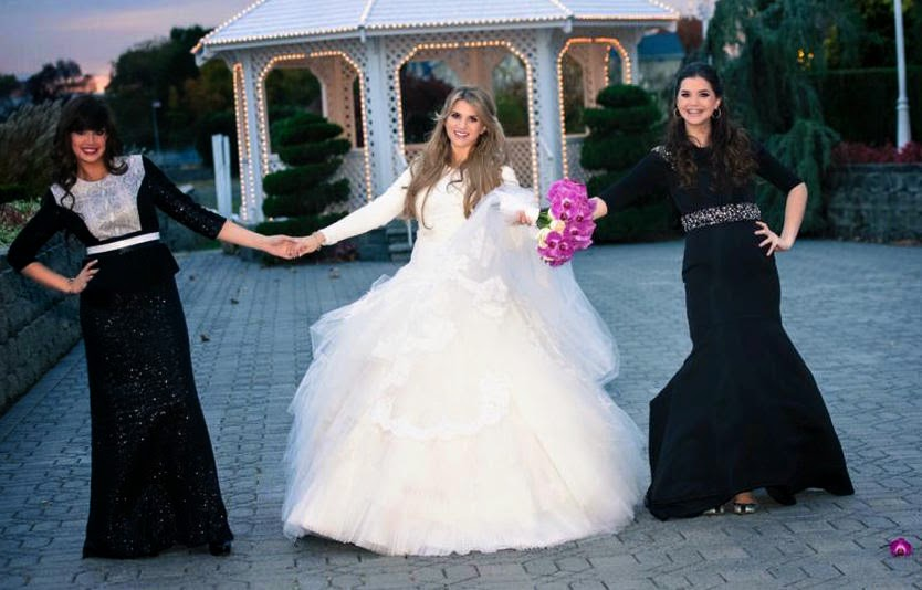 Wedding Wednesday: The Real Wedding Dresses of The Frum and Fabulous - .