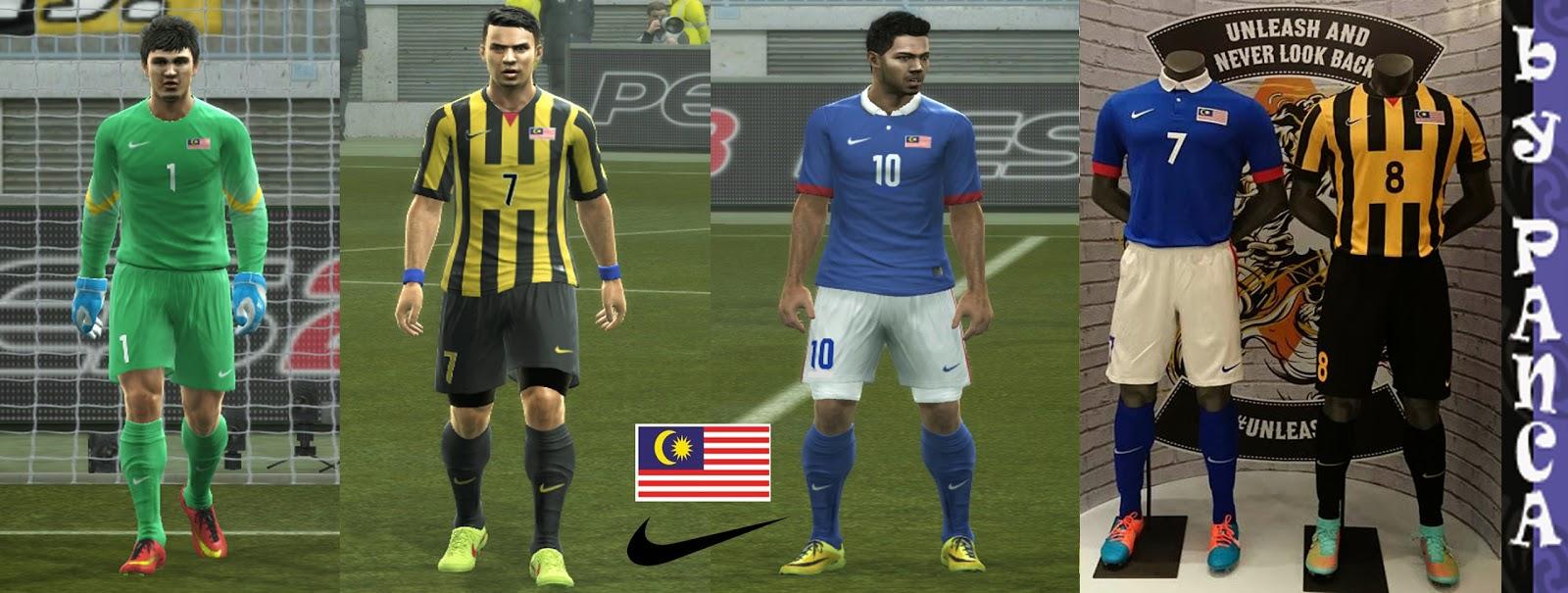 PES 2013 Malaysia Kits New 2014 GDB Full by panca