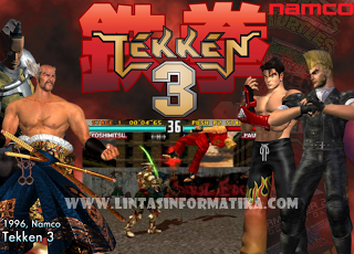 Download Game Tekken 3 Untuk PC - www.lintasinformatika.com