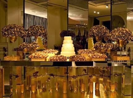Dicas de decoração da festa de bodas de ouro