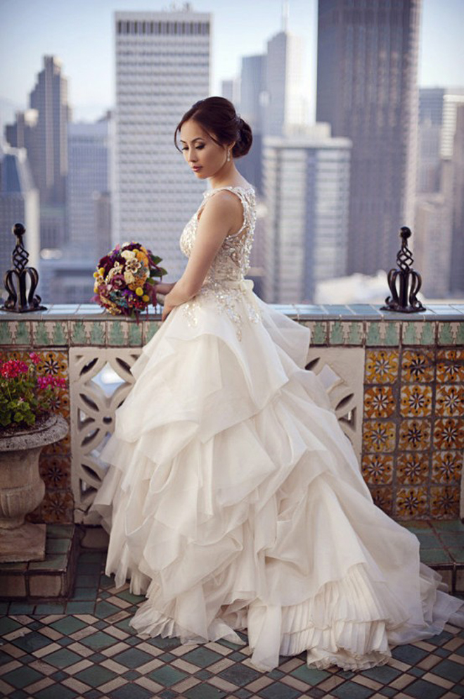 Dress Of The Week Bridal Style Inspiration Veluz Reyes