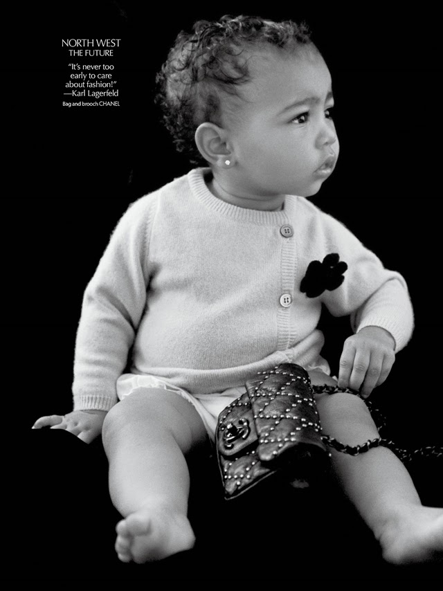 Kim and Kanye s daughter North North West August 2014