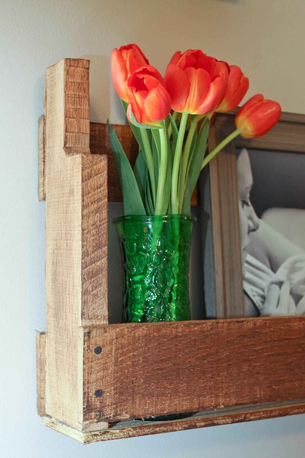I Love You More Than Carrots DIY Rustic Pallet Shelves