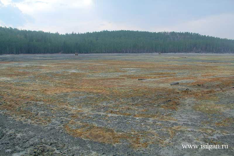 Хвостохранилище. Карабаш. Челябинская область.