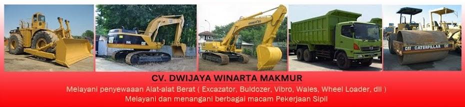 Penyewaan Alat-Alat Berat : Excavator, Buldozer, Vibro, Wales, Wheel Loader