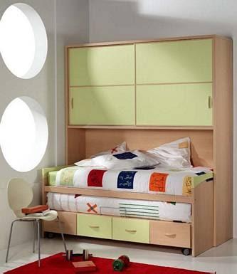 Dormitorio juvenil moderno que ahorra - Dormitorio juvenil decoracion ...