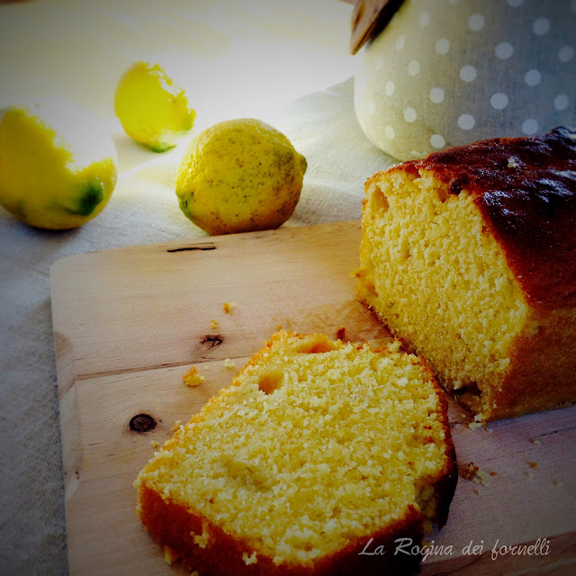 Cake limone, limone e ancora limone        (succo, scorza e polpa)