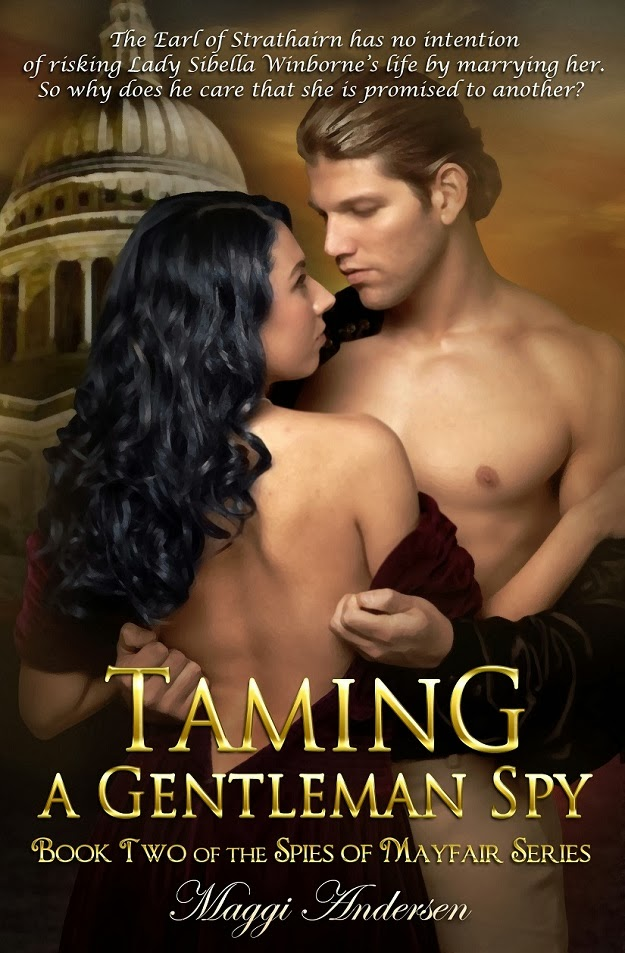 TAMNG A GENTLEMAN SPY - THE SPIES OF MAYFAIR BOOK #2