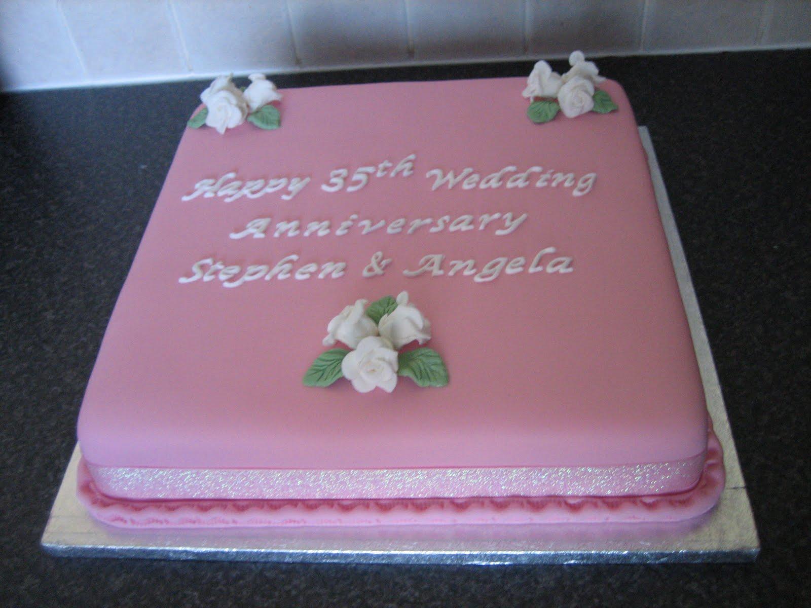 Sarah t cakes th wedding anniversary cake