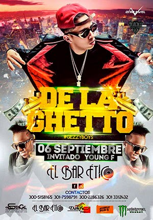 DE LA GHETTO EN CARTAGENA