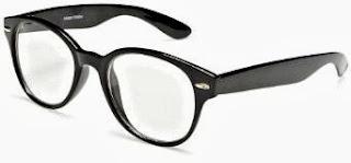 Large, Round Frame Glasses
