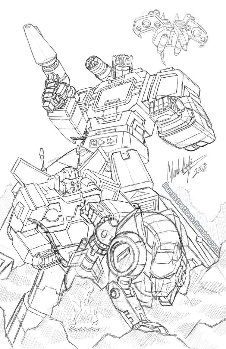 Transformers g1 coloring pages soundwave