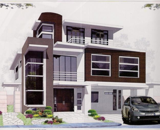 House plans and design contemporary home design canada for Modern home plans canada