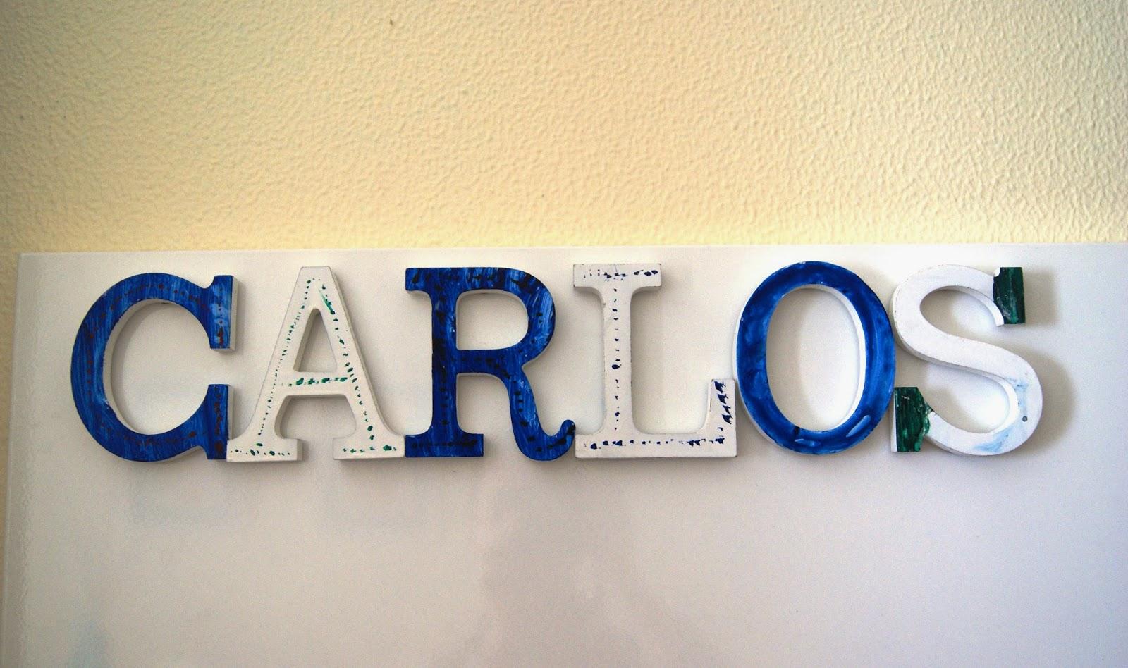 Ruca la casa de los complementos letras de madera - Casa letras madera ...