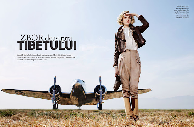 amelia earhart, fashion, guiliano bekor