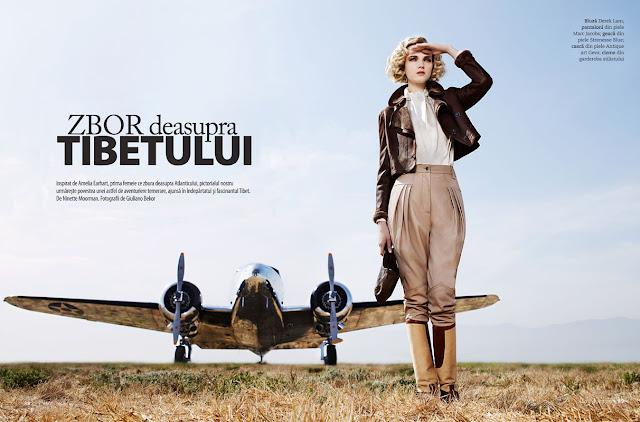 amelia earhart, fashion, guiliano bekor