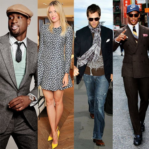 Style Essentials of Top-Dressed Sports Stars