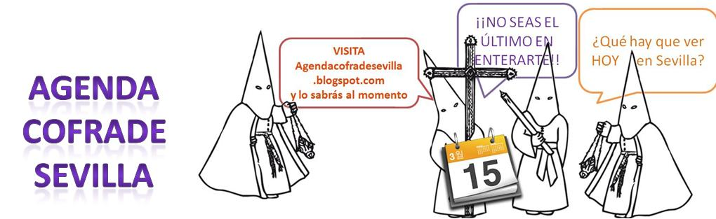 Agenda cofrade Sevilla