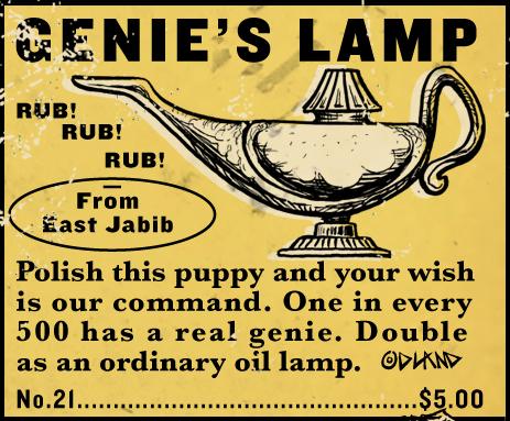 Attractive GENIEu0027S LAMP