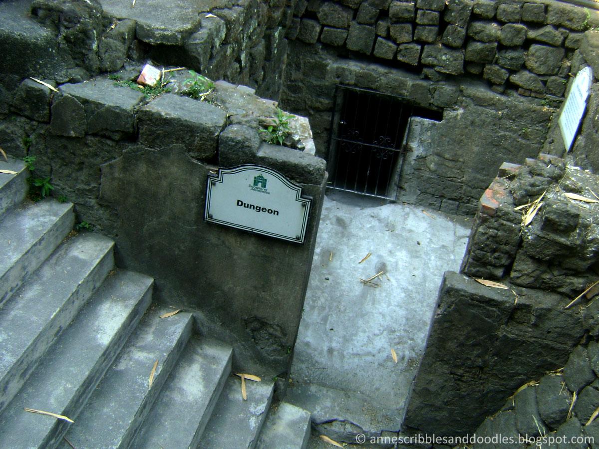 Fort Santiago, Intramuros: Dungeon