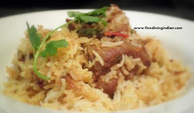 lamb biriyani,chicken biriyani recipe with picture easy preperation finediningindian.com