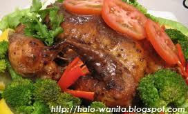 resep lengkap masakan ayam penggang padang