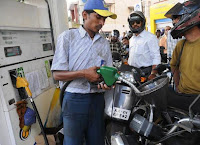 Petrol price hiked by 35 paise