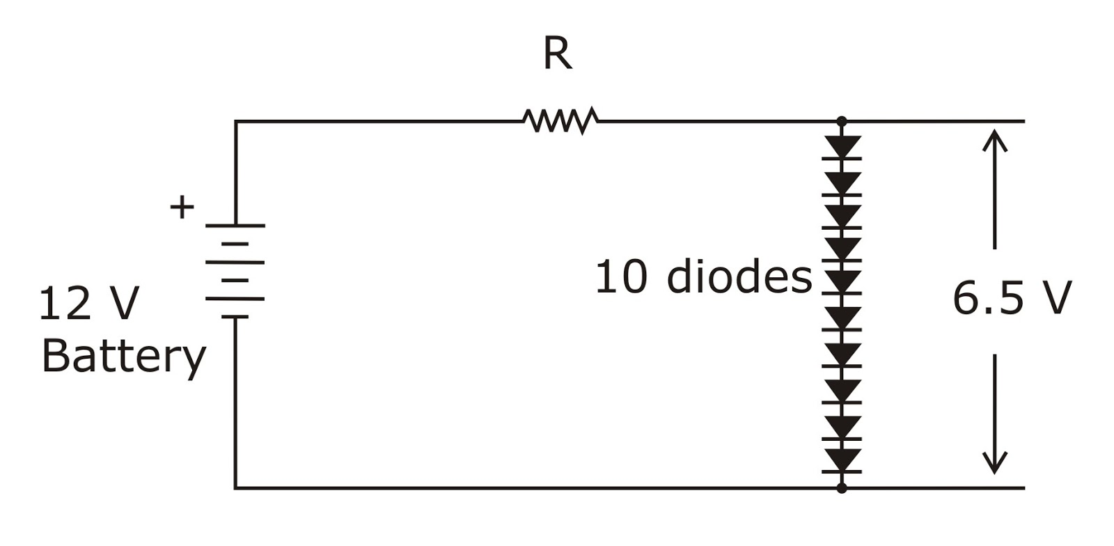Electronic Circuits Basic Electronics 2 Diode And A Zener In Simple Regulator Circuit