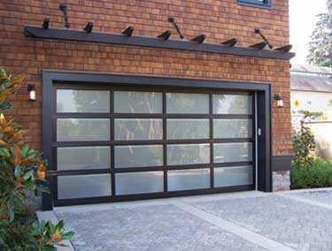 Modern Classic garage door photo