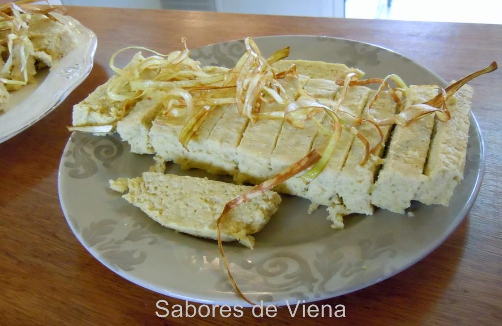 Pastel de puerros preparado por Viena, de cuyo blog he tomado esta foto.