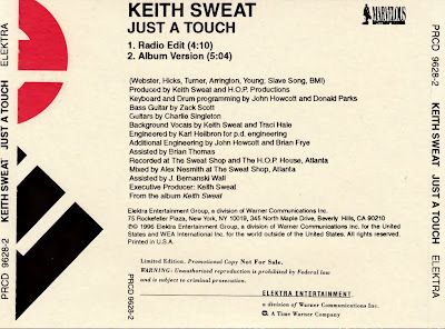 Keith Sweat Feat. Traci Hale - Just A Touch-(Promo_CDS)-1996