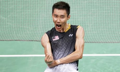 lee chong wei shout